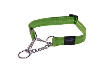 Rogz Dog Obedience Collar Lime - M