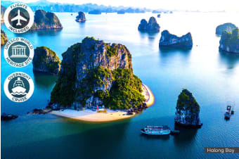 VIETNAM: 10 Day Vietnam Escape Tour Including Flights For Two