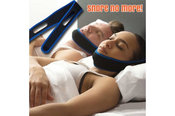 2 Pcs AntiSnore Device Jaw Strap