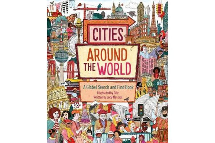 Cities Around the World - A Global Search and Find Book