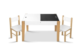 Two Tone Kids Table and Chair Set