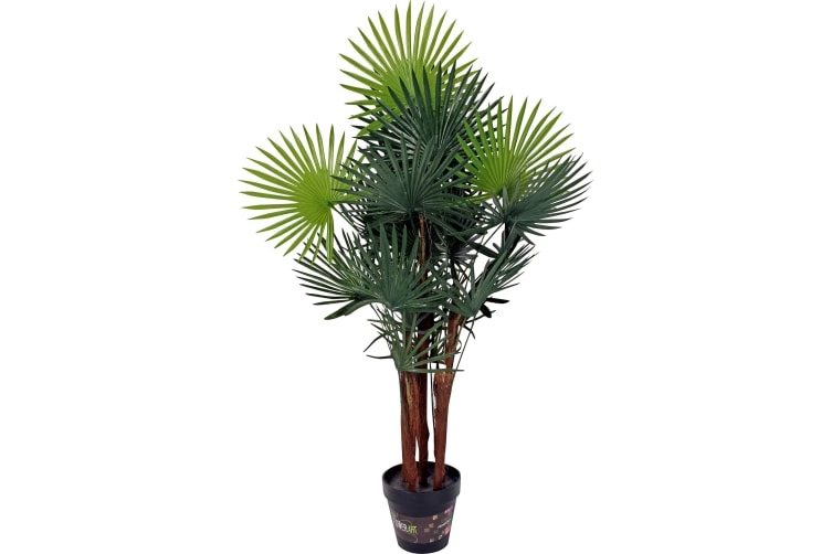 Artificial Fortunei Palm In Pot 90cm