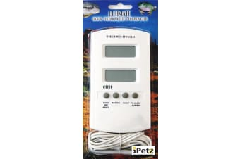 URS Ultimate Reptile Digital Thermometer & Hygrometer for Snakes, Lizards, Frogs
