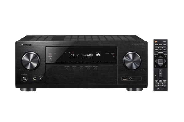 Pioneer 130W 5.2 Channel Network Receiver with 4K Upscaling, WiFi & Bluetooth (VSX831)