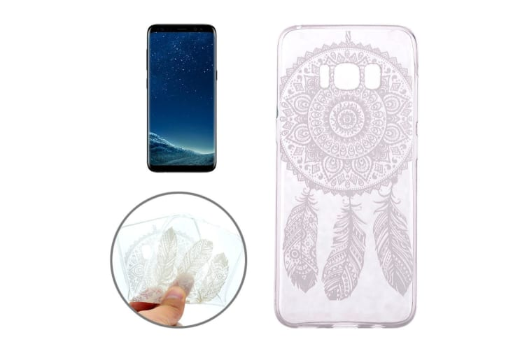 For Samsung Galaxy S8 Case Stylish Dream Catcher Transparent Protective Cover
