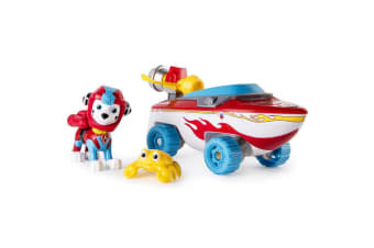 Paw Patrol Sea Patrol - Marshall's Transforming Vehicle with Sea Friend
