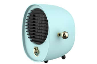 Select Mall Creative Portable Hug Heater Mini Desktop Silent Hot Air Fan Dormitory Energy-saving Electric Heater-Green