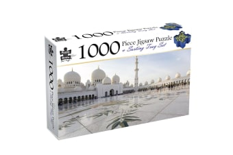 Grand Mosque, Abu Dhabi, 1000 Piece Puzzle & Sorting Tray