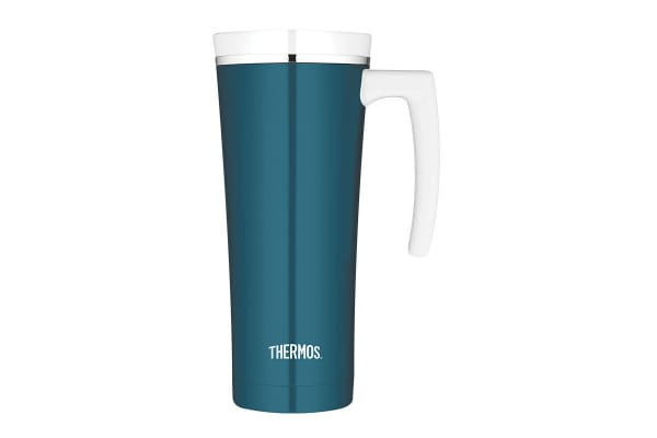 Thermos 470 ml Sipp Stainless Steel Vacuum Insulated Travel Mug (Teal)
