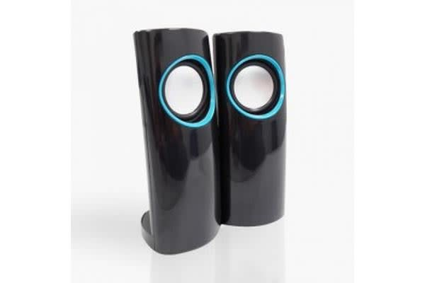 USB Powered Stereo Speakers USB2.0 - Retail Boxed