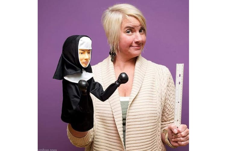 Punching Nun Boxing Hand Puppet | Archie McPhee