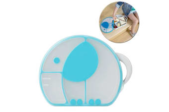 Boon Blue Cargo Snack Box for Lunch/Food/Fruits/Travel/Picnic/Carry/Bag for Kids