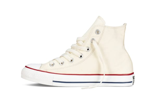 Converse Chuck Taylor All Star Hi (Off White, US Mens 6.5 / US Womens 8.5)