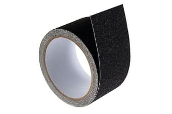 Anti-Slip Sticky Adhesive 48mm x 3m Tape/Stickers for Floor/Stairway Steps Black