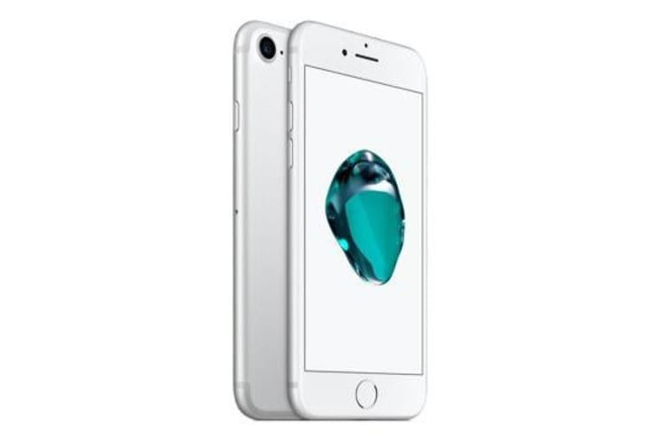 Used as Demo Apple iPhone 7 128GB 4G LTE Silver Australian Stock (6 month warranty + 100% Genuine)