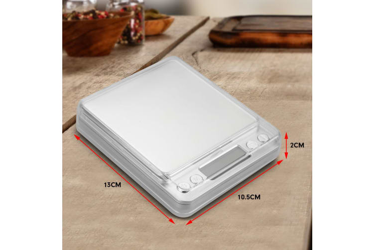 Kitchen Table top Digital Scale 500g 0.01gm