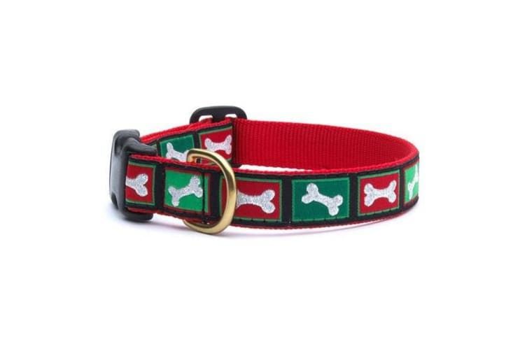 Up Country Christmas Bones Collar (Multicoloured) (XS)