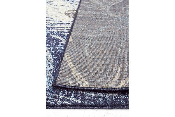 Opulence Feather Navy Rug 290X200cm