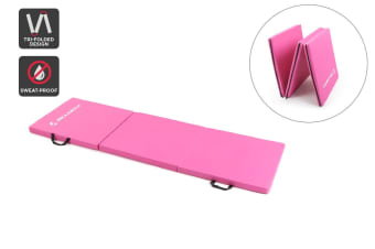 Fortis Folding Exercise Mat (Pink)