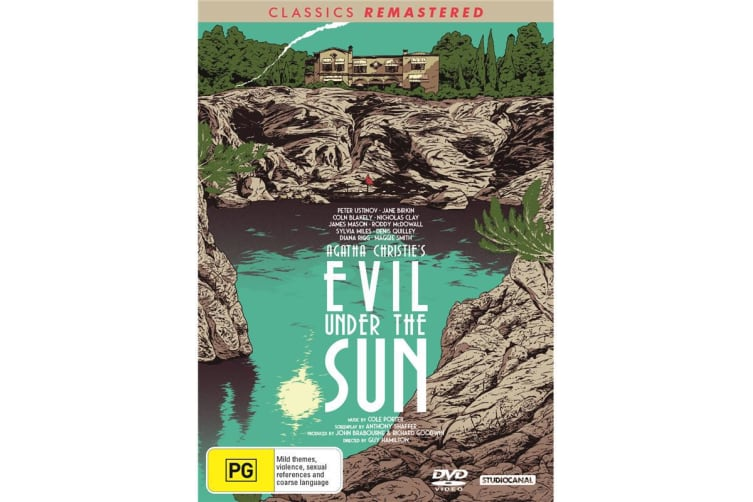 Evil Under the Sun DVD Region 4