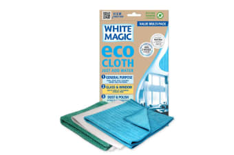 White Magic Microfibre Household Value Pack