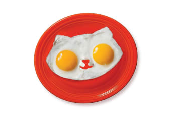 Cat Face Egg Moulds - Turn Your Fried Eggs Into Kitty Cats!