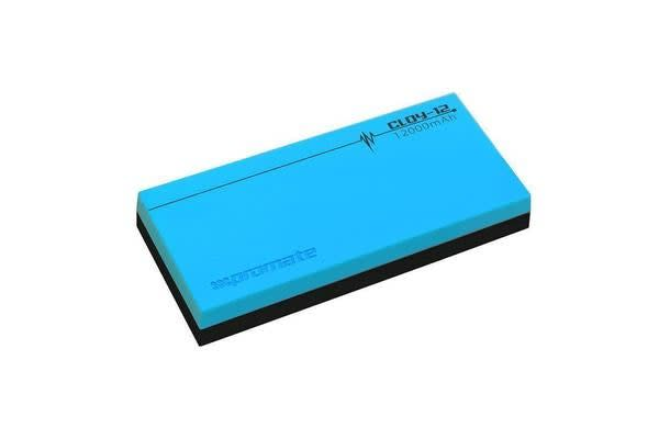 Promate CLOY-12.BL Power Bank 12000mAh 2xUSB Ports 2.1A Blue Premium Lithium Polymer Backup Battery