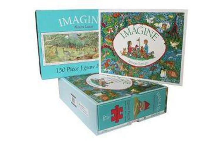 Imagine - Book and Jigsaw Puzzle
