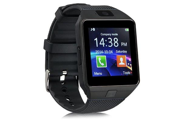 "Smart Phone Watch 1.56""  Touch Lcd Micro Sim Input Bluetooth Camera Black"