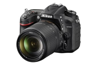 Nikon D7200 Digital SLR Camera 24.2 MP DX-Format CMOS w/ AF-S 18-140mm NIKKOR Lens