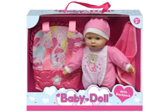 Baby Doll With Backpack