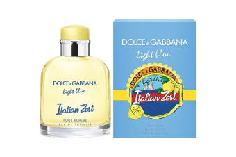 Light Blue Italian Zest Pour Homme for Men EDT 125ml