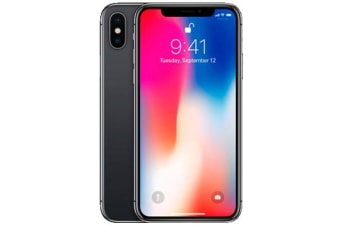 New Apple iPhone X 256GB 4G LTE Space Gray (FREE DELIVERY + 1 YEAR AU WARRANTY)