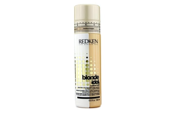 Redken Blonde Idol Custom-Tone Adjustable Color-Depositing Daily Treatment (For Warm or Golden Blondes) (196ml/6.6oz)