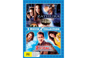 Zathura / Zoom Academy for Superheroes DVD Region 4