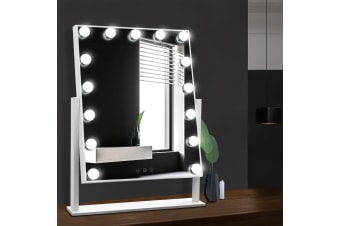 Hollywood Makeup Mirror with 15 Dimmable Bulb Lighted Dressing