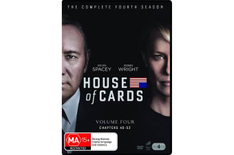 House of Cards The Complete Fourth Season 4 DVD Region 4