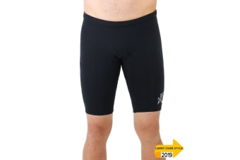 JetPilot Flight Mens 2mm Neo Short - Black - 2X-Large