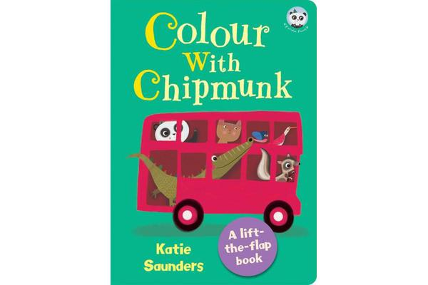 Colour with Chipmunk - Panda Paws Lift-the-Flap