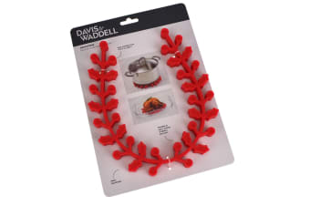 Davis And Waddell Red Silicone Trivet