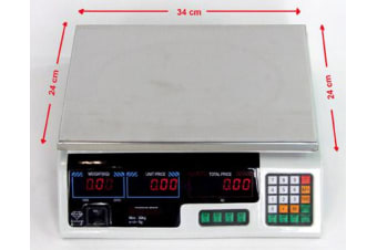 Price Weight Computing Digital Electronic Scale 40KGs