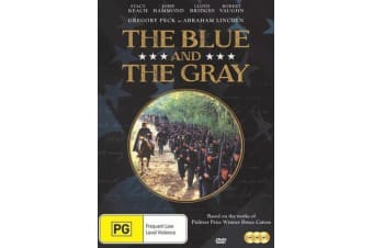 The Blue And The Gray  - Rare- Aus Stock DVD  PREOWNED: DISC LIKE NEW