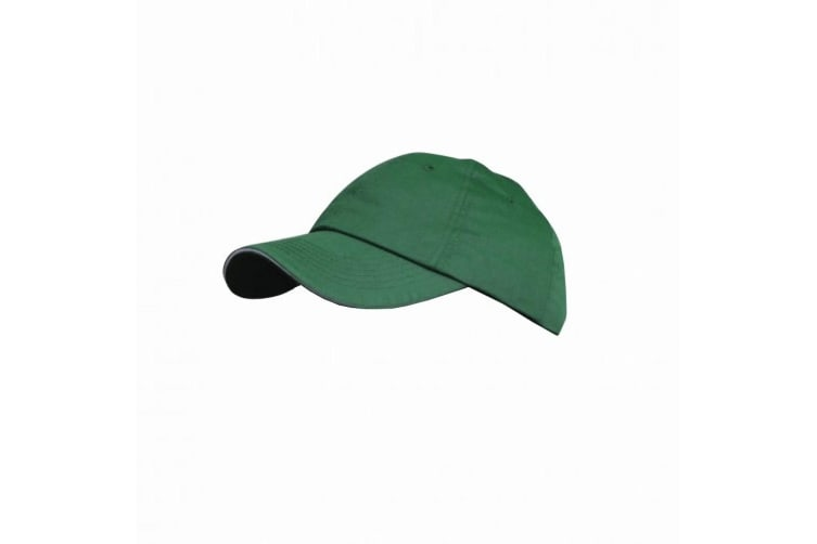 Result Plain Premium Heavy Brushed Baseball Cap (Pack of 2) (Forest/Putty) (One Size)