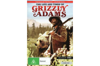 The Life and Times of Grizzly Adams Season 2 - Series DVD Preowned: Excellent Condition