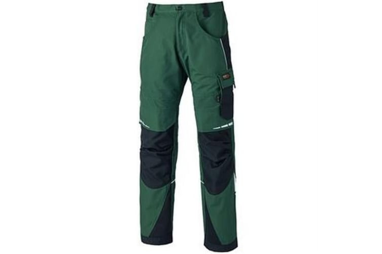 Dickies Mens Pro Trousers (Green/Black) (32T)