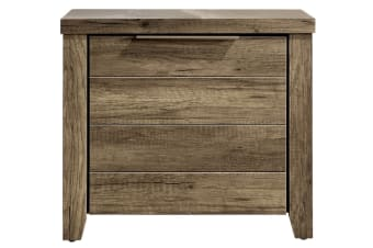 Alice 2 Drawer Night Stand (Oak)