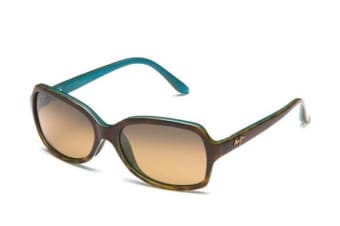 Maui Jim Cloud Break HS70010P Tortoise with Peacock Blue Womens Sunglasses Polarised