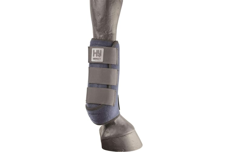 HyIMPACT Sport Support Boots (One Pair) (Navy) (S)