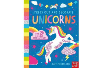 Press Out and Decorate - Unicorns