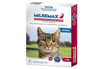 Milbemax Tablets All Wormer For Cats - 20p